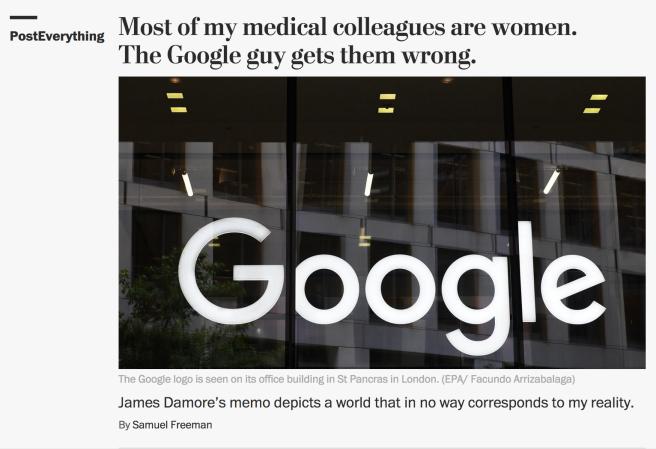 Google Straw Man
